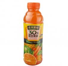 农夫果园 30%橙味 果蔬汁 500ml*15瓶/箱