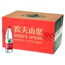 农夫山泉 饮用天然水550ml*24/箱 整箱
