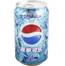 百事可乐 碳酸饮料 汽水 330ml*24瓶/箱