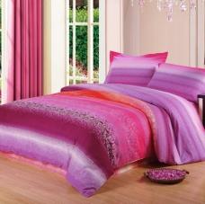 阿思家家纺 加厚纯棉磨毛四件套 床品4件套套件1.8米床