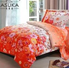 阿思家 纯棉斜纹床上用品三件套 浪漫天使 1.2米