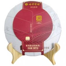 七彩云南 普洱茶(润系列)普洱熟茶 357克