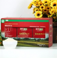 葵花阳光 正宗五常原产稻花香大米6kg/盒