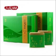 【顶峰茶业】2015新茶预售 绿茶雨前西湖龙井茶三级新款包装 250g