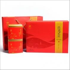 【顶峰】2015新茶预售绿茶 雨前西湖龙井一级礼盒(新款) 250g