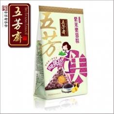 五芳斋 紫米栗蓉粽100g*2个/袋  粽子团购