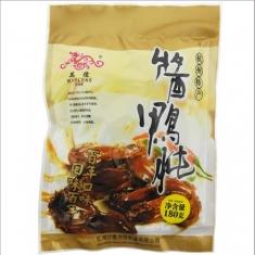杭州万隆【酱香鸭肫】180g/袋  年货团购