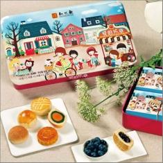 月饼团购 知味观【爱的乐章】官方标准礼盒 铁盒