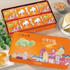 月饼团购 知味观【印象小镇】官方标准礼盒   蛋黄酥铁盒