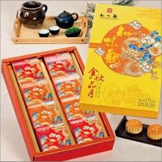月饼团购 知味观【金秋品月】官方标准礼盒