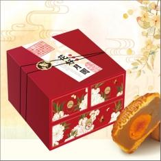 月饼团购 采芝斋【花好月圆】官方标准月饼礼盒