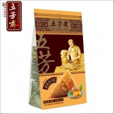 五芳斋 蛋黄鲜肉粽140g*2个/袋 粽子团购
