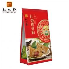 杭州粽子团购 知味观粽子【红烧排骨280克】礼袋团购