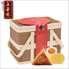 特价:五芳斋标准定制【三黄五帝】礼盒 中华老字号