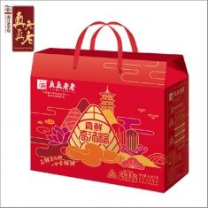 真真老老礼品粽【真情】礼盒 中华老字号