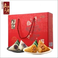 真真老老礼品粽【福礼】礼盒 中华老字号