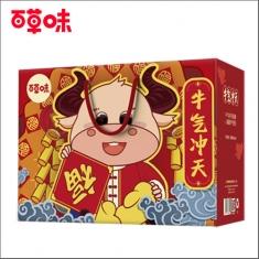 百草味 官方标配《牛气冲天》礼盒